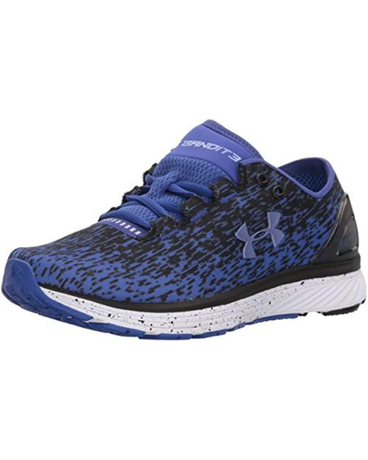 Under Armour Blue Charged Bandit 3 Ombre Sneaker