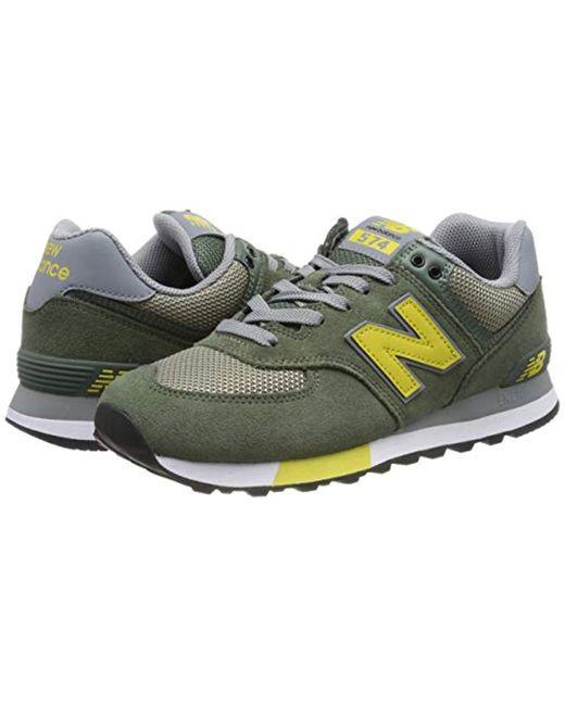 new balance 574v2 hombre verde