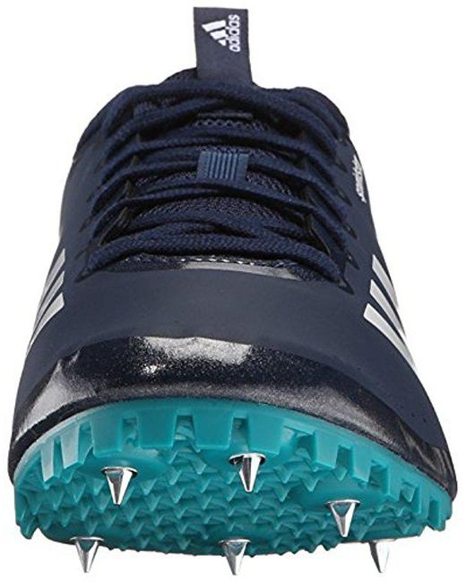 ... Adidas - Blue Sprintstar W Running Shoes With Spikes for Men - Lyst ...