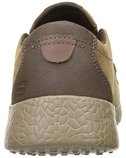 a07a4cc7fa7c ... Skechers - Brown Usa Burst Valid Slip-on Loafer for Men - Lyst ...