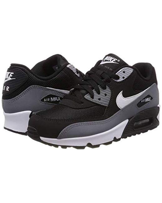 online store e81aa 2cbe6 ... Nike - Air Max 90 Essential Gymnastics Shoes, (black white cool Grey ...