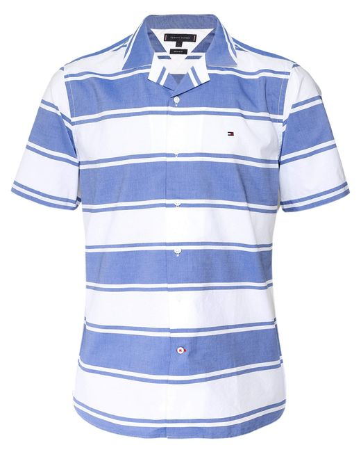 Baja Stripe Shirt S/s Sudadera Tommy Hilfiger de hombre de color Blue