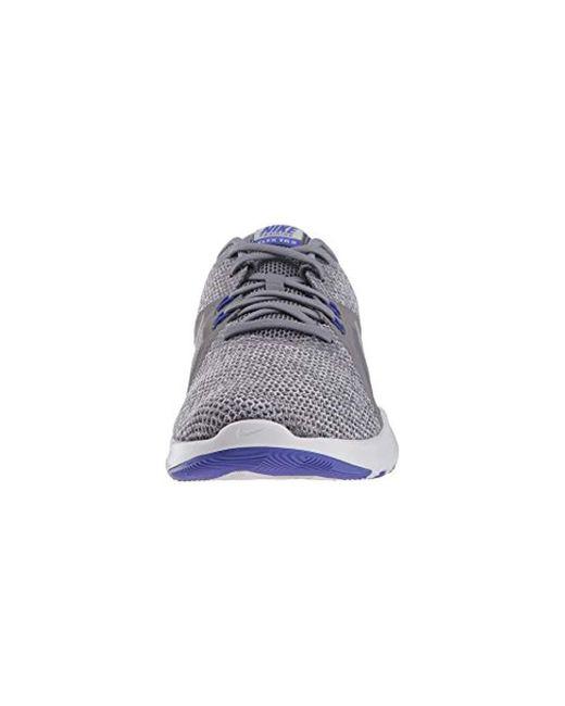 558a7efec2b7 Lyst - Nike Flex Trainer 8 Cross in Metallic - Save 42%