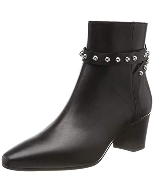 HUGO - Black 's Shoreditch Bootie-c Ankle Boots - Lyst