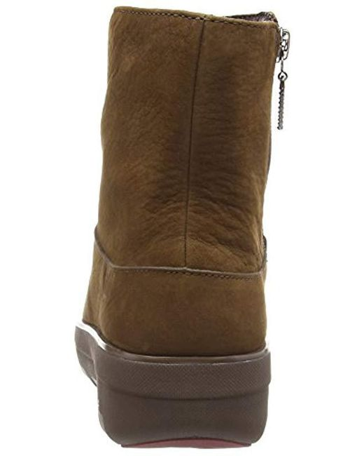 a850132d1 ... Fitflop - Brown Loaff Shorty Zip