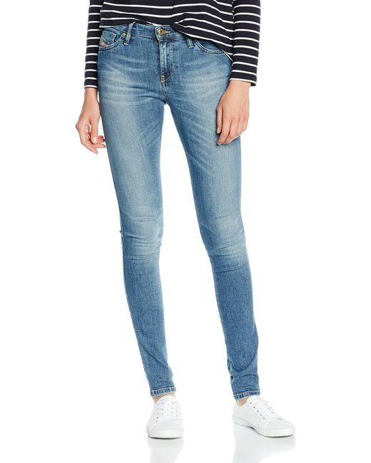 Jeans - Droit DIESEL en coloris Blue