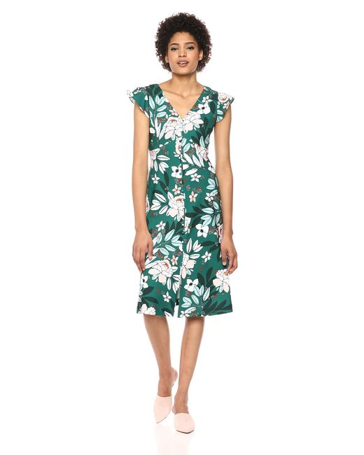 Black Multicolor ADRIANNA PAPELL Women/'s Floral Printed Dress NEW MSRP $160
