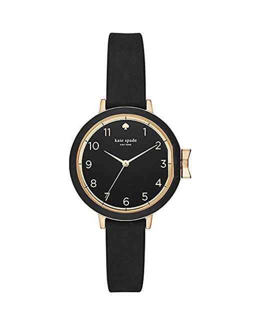 Kate Spade - Black Kate Spade Watches Park Row Watch - Lyst