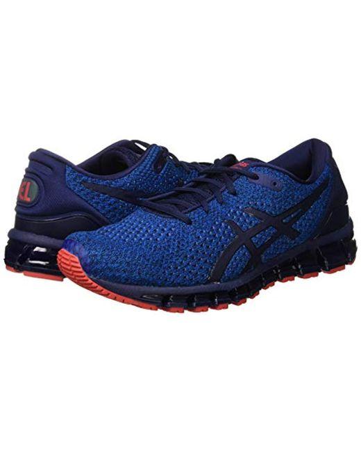 Men's Blue Gel quantum 360 Knit 2 Running Shoes
