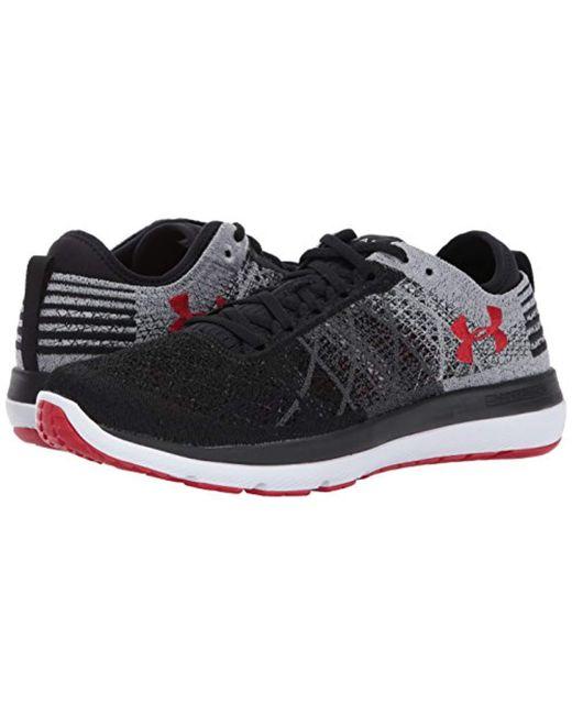 pretty nice 8b941 36eae Men's Black Threadborne Fortis Running Shoe