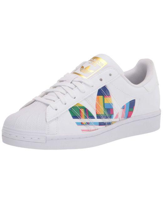 FY9022 Superstar Pride Size 12 White Adidas pour homme en coloris Multicolor