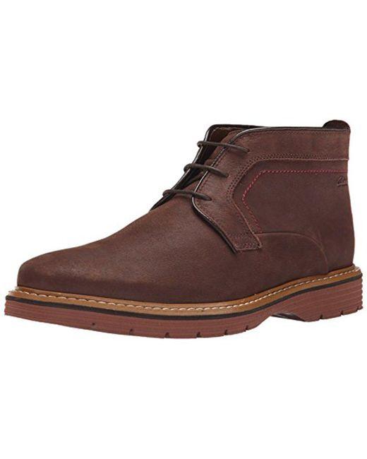 Clarks - Brown Newkirk Top Chukka Boot for Men - Lyst