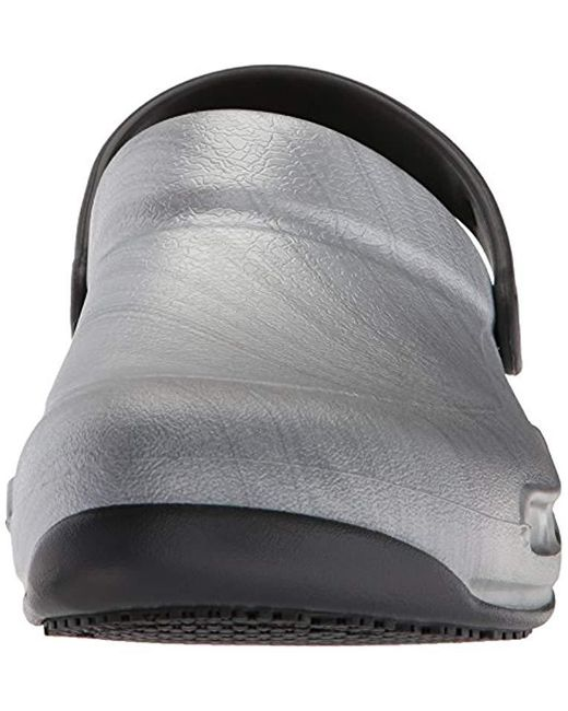 crocs Clog Bistro Pro LiteRide Clog Schwarz Croslite Normal Unisex
