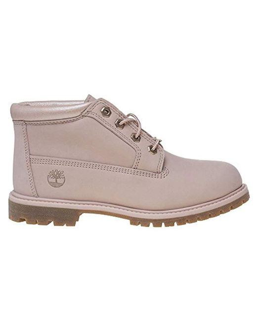 Timberland Leather Nellie Chukka Double Ankle Boots in