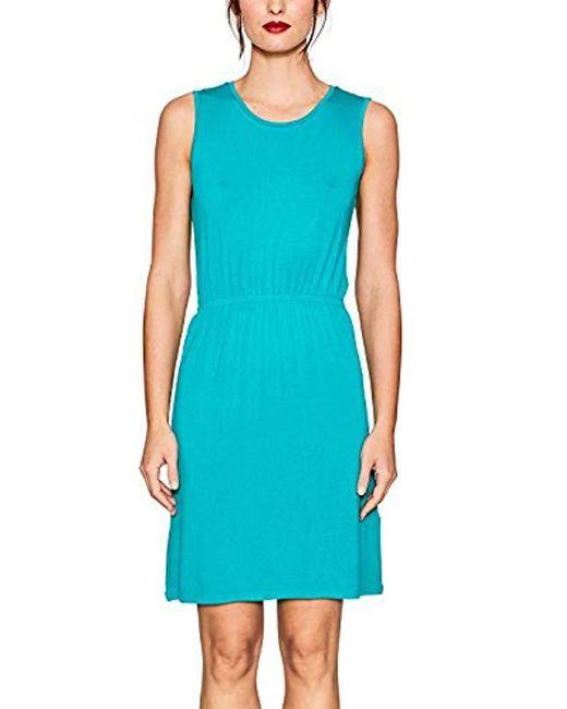 Esprit - Blue Dress - Lyst