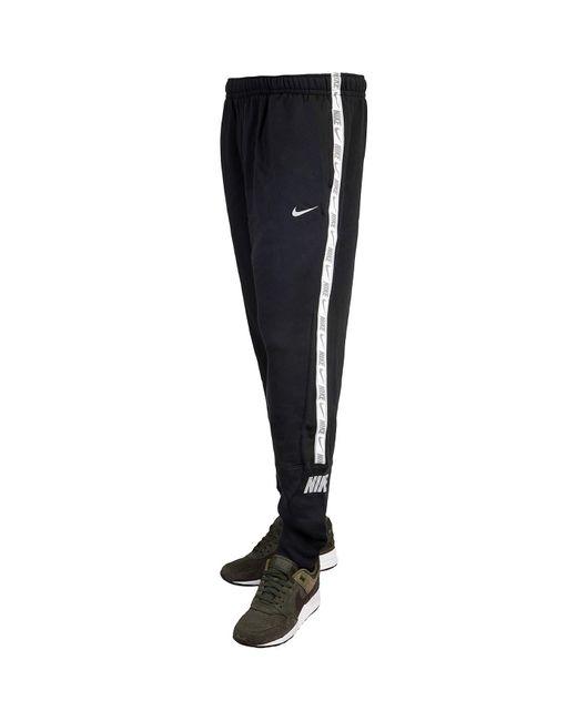 Pantaloni da jogging in pile Nero di Nike in Black da Uomo