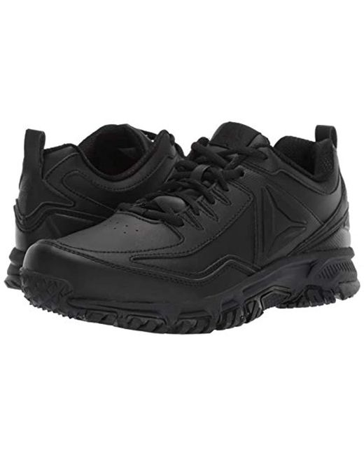 ... Reebok - Black Ridgerider Leather 4e Sneaker for Men - Lyst ... e73da7035
