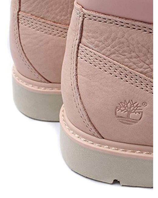 Timberland Kenniston Nellie Boot Cameo Rose Leather in Pink