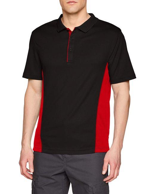 Regatta Poloshirt Salt Lake Polo in Black für Herren
