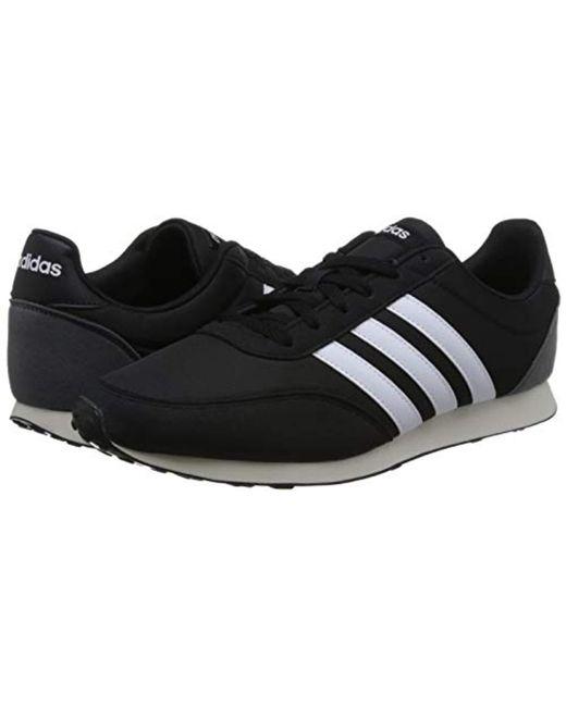 adidas V Racer 2.0 Bc0106 Running Shoes in Black for Men Lyst