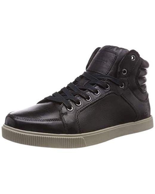 Volden-Meric, Zapatillas Altas para Hombre Skechers de hombre de color Black