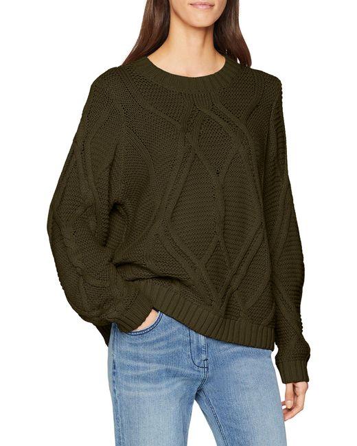 Vero Moda Vmlina LS O-Neck Blouse Boo Rep Pullover Donna