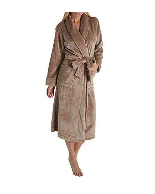 N Natori Natural Plush Fleece Robe