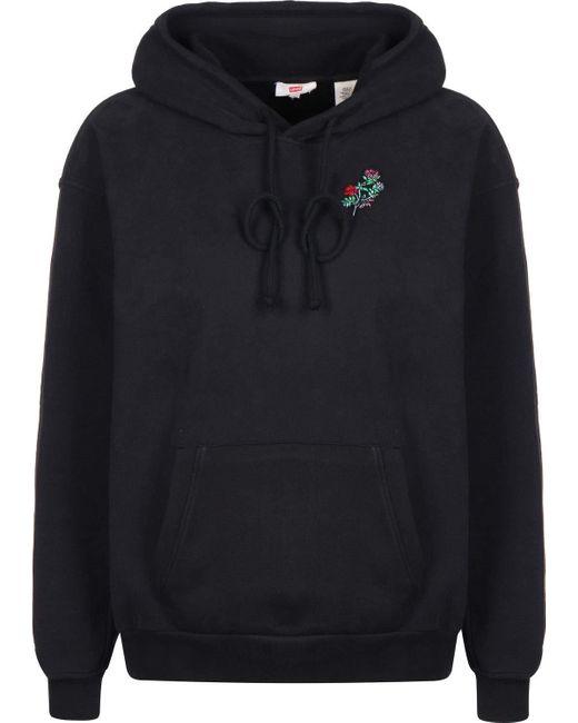 ® Unbasic W Felpa Floral di Levi's in Black