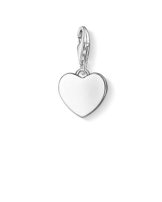 Pendentif Charm cœur Argent Sterling 925 0766-001-12 Thomas Sabo en coloris Metallic