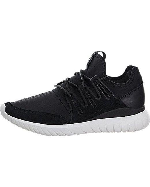 e6d4f741f97 ... inexpensive adidas originals black tubular radial fashion sneaker for  men lyst b6e43 ff2be