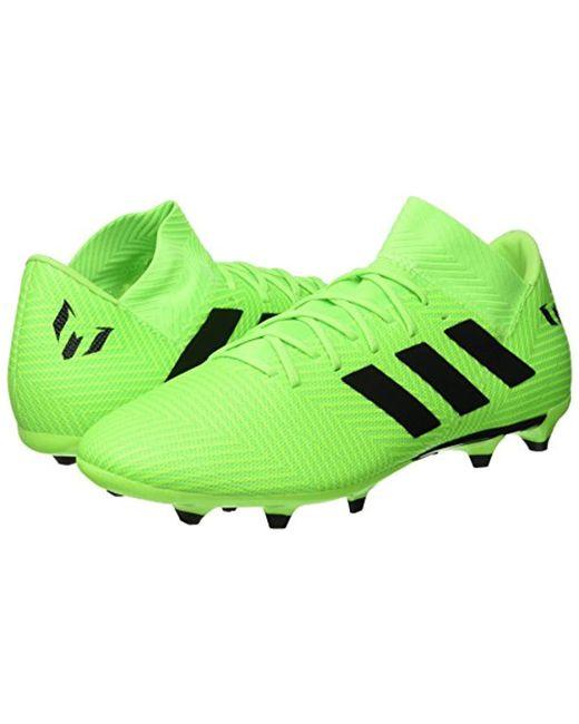 5d6dfef59b545 adidas Nemeziz Messi 18.3 Footbal Shoes in Green for Men - Lyst