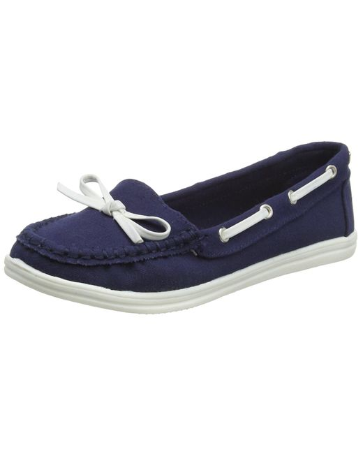 Dorothy Perkins Blue Loat Slipper