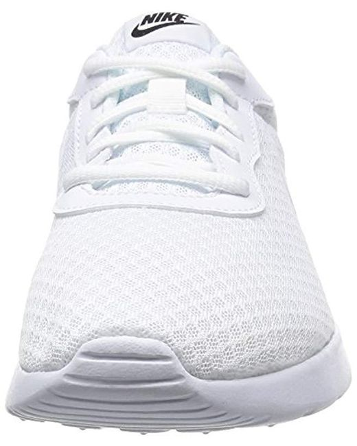 2fac49b304183 Nike Tanjun Trainers in White for Men - Save 14% - Lyst