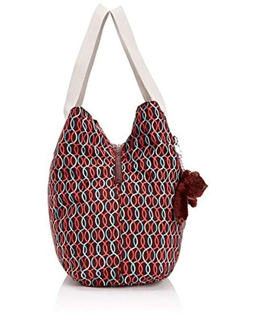 really comfortable outlet on sale fashion Kipling Synthetic S Pravia Shoulder Bag in Red - Lyst