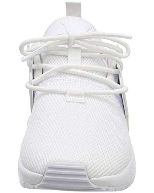 X_PLR C, Zapatillas Unisex Niños de color blanco