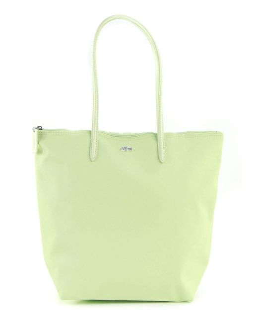 L.12.12 Concept Vertical Shopping Bag Evernia di Lacoste in Green