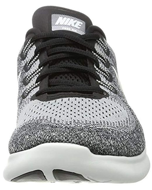 2c8ef0492d6b ... Nike - Gray Free Rn 2017 Running Shoes for Men - Lyst ...