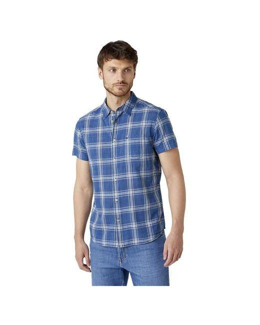 Pocket Shirt Camicia di Wrangler in Blue da Uomo