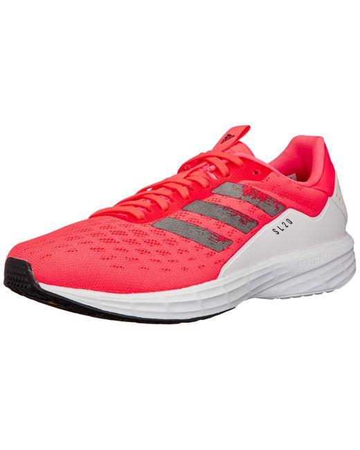 Chaussures SL20 Adidas pour homme en coloris Red