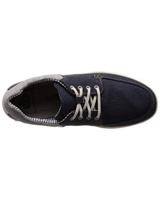 70f09f95b0f ... Clarks - Blue Step Isle Lace, Zapatos de Cordones Derby para Hombre for  Men -