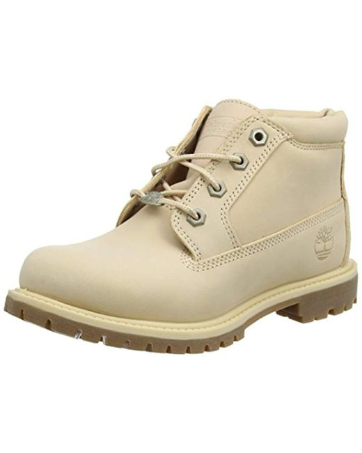 Timberland Natural Women's Nellie Chukka Double Waterproof Boots for Men Lyst