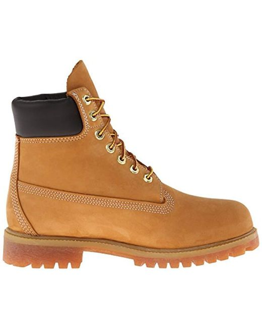 711a8c57eb22 ... Timberland - Brown 6 Premium Boot (rust Nubuck) Men s Lace-up Boots for  ...