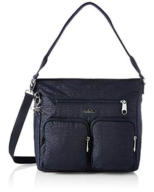 Kipling - Black Tasmo Shoulder Bag - Lyst
