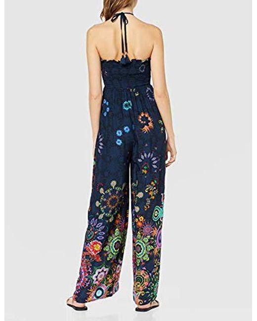 d6e5049b1e96 Dress Swimwear Iye Woman Blue Mono Largo para Mujer de color azul