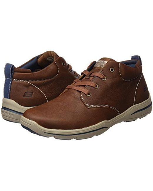 really comfortable Clearance sale sale retailer Skechers Usa Harper Meldon Chukka Boot in Brown for Men - Lyst