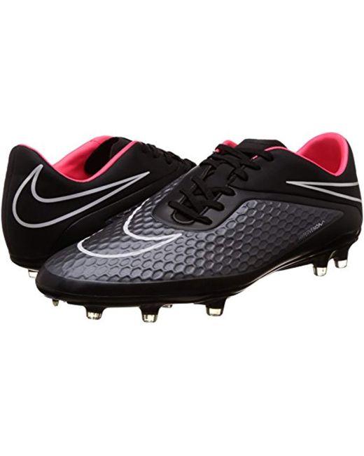 newest collection b2a5d 63942 Men's Black Hypervenom Phelon Fg Football Boots