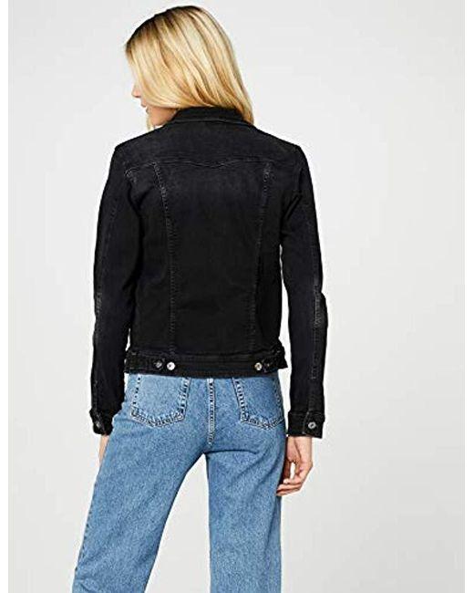 online retailer 80f79 015b6 Damen Jeansjacke in schwarz