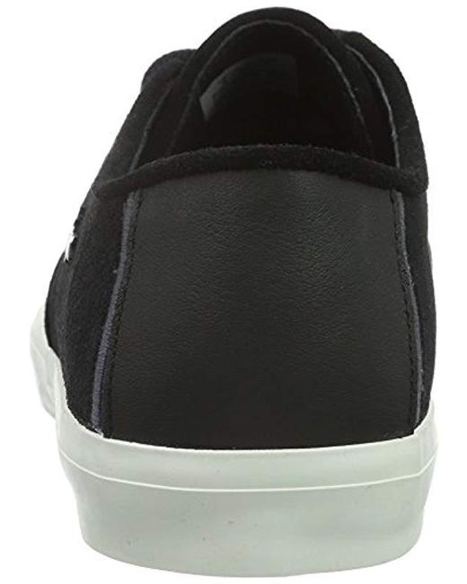eb9b071fd ... Lacoste - Black Sevrin 316 1 Cam Blk Bass Trainers for Men - Lyst ...