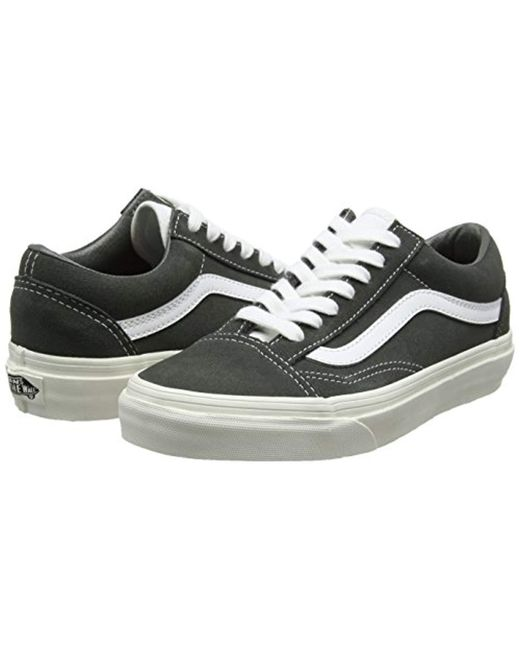 e8ebfd316ad828 ... Lyst Vans - Gray Unisex Adults  Old Skool Trainers for Men ...