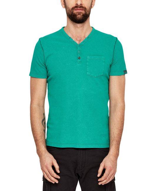 S.oliver 13.803.32.2741 T-Shirt in Green für Herren